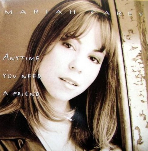 Bild 1: Mariah Carey, Anytime you need a friend (1994; 2 tracks, cardsleeve)