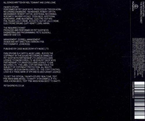 Bild 2: Pet Shop Boys, I'm with stupid (2006; 2 tracks)