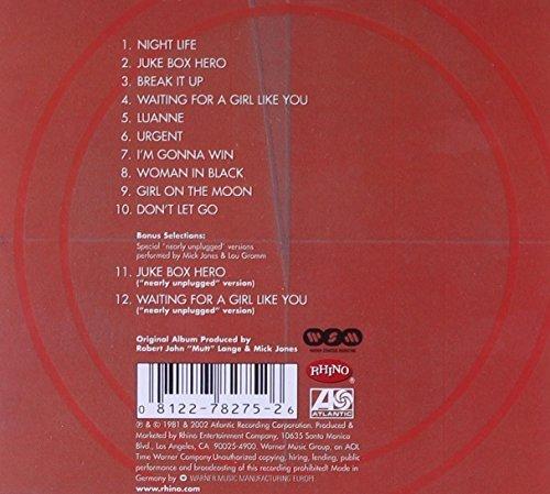 Bild 2: Foreigner, 4 (1981/2002; 12 tracks)