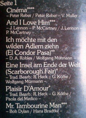Bild 2: Paola, Lieder, die ich liebe (1980)