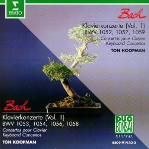 Bild 1: Bach, Klavierkonzerte 1 (BWV 1052-54, 1056-59) (Amsterdam Baroque Orchestra/Ton Koopman)