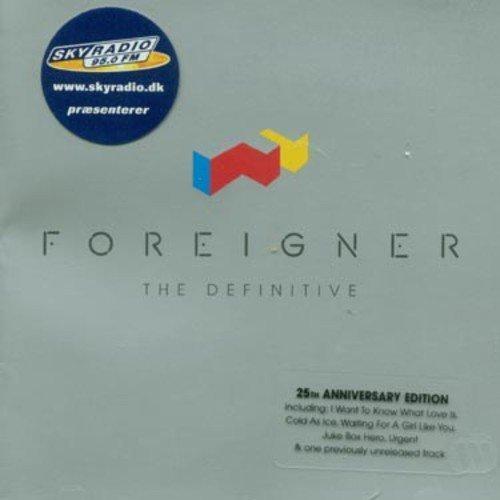 Bild 1: Foreigner, Definitive (20 tracks, Rhino, remastered, 25th anniversary)