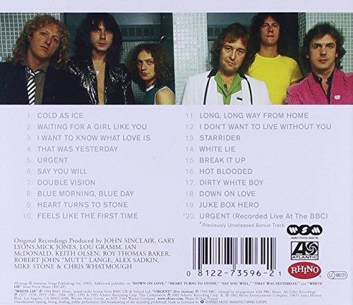Bild 2: Foreigner, Definitive (20 tracks, Rhino, remastered, 25th anniversary)