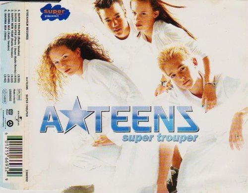 Bild 1: A*Teens, Super trouper (2000; 4 tracks/video)