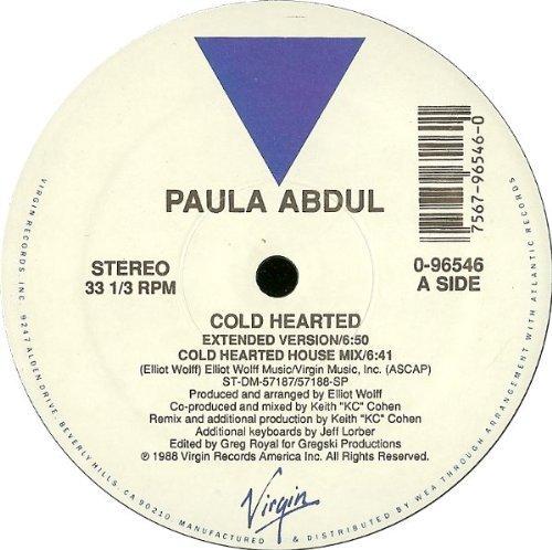 Фото 2: Paula Abdul, Cold hearted (US, 5 versions, 1988)