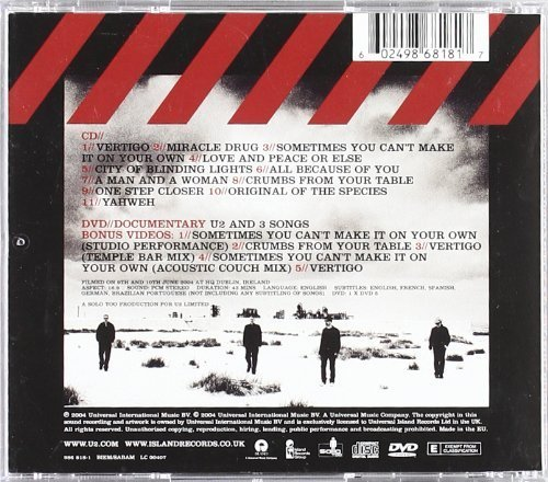 Bild 2: U2, How to dismantle an atomic bomb (2004, CD/DVD)