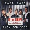 Take That, Back for good (1995; 2 tracks, cardsleeve)