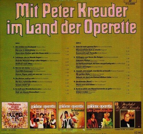Bild 4: Peter Kreuder, Mit P.K. im Land der Operette (1977)