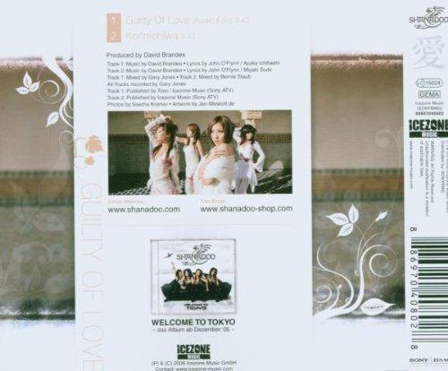 Image 2: Shanadoo, Guilty of love (2006; 2 tracks)