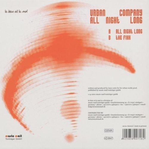 Bild 2: Urban Company, All night long/The fixx (2001)