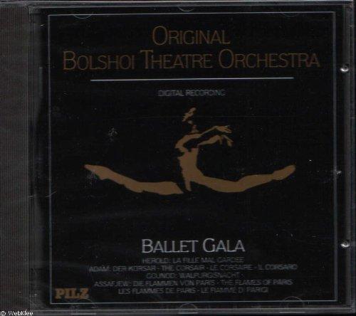 Bild 1: Adam, Adolphe, Giselle/Les wilis-2. Akt (Bolshoi Theatre Orchestra/Georgi G. Zhemchushin)