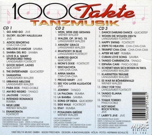 Bild 2: 1000 Takte Tanzmusik (50 tracks), Orch. Etienne Cap, Stephan Diez, Werner Tauber, Felix Gary..