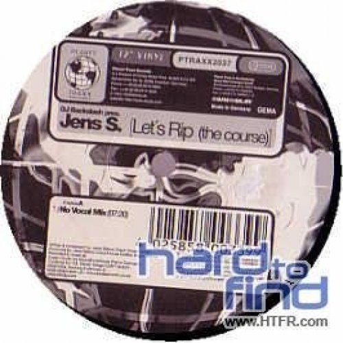 Bild 1: Jens S., Let's rip (the course; No Vocal/Orig. Club Mixes/D-Gor Ext. Remix, 2004)