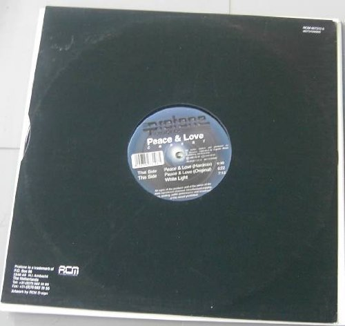 Bild 1: Caesar, Peace & love (Hardmix/Orig., 1999, plus 'White light')