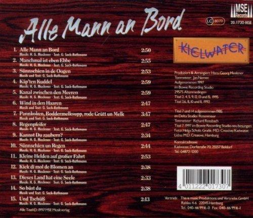 Bild 2: Kielwater, Alle Mann an Bord (compilation, 15 tracks, 1997)