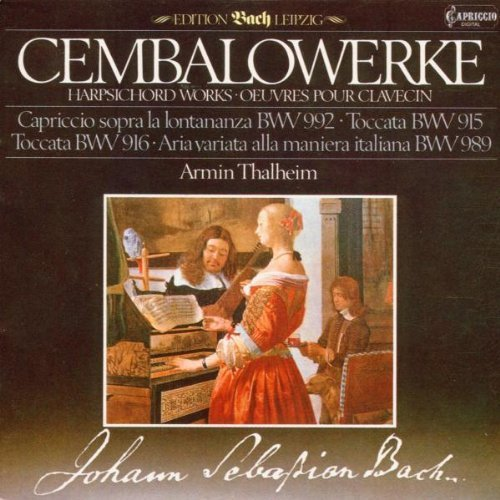 Bild 1: Bach, Cembalowerke: BWV 992, 915, 916, 989 (1984) (Armin Thalheim)