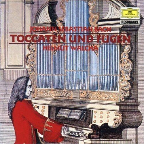 Bild 1: Bach, Toccaten und Fugen, BWV 565, 540, 538, 564 (DG/Resonance, 1963) (Helmut Walcha)