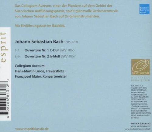 Bild 2: Bach, Ouvertüren BWV1066/1067 (DHM/Esprit, 2006) (Collegium Aureum, Hans-Martin Linde, Franzjosef Maier)