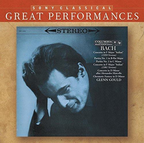 Bild 1: Bach, Piano works (Sony, 2006) (Glenn Gould)