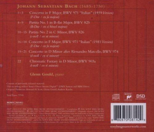 Bild 2: Bach, Piano works (Sony, 2006) (Glenn Gould)