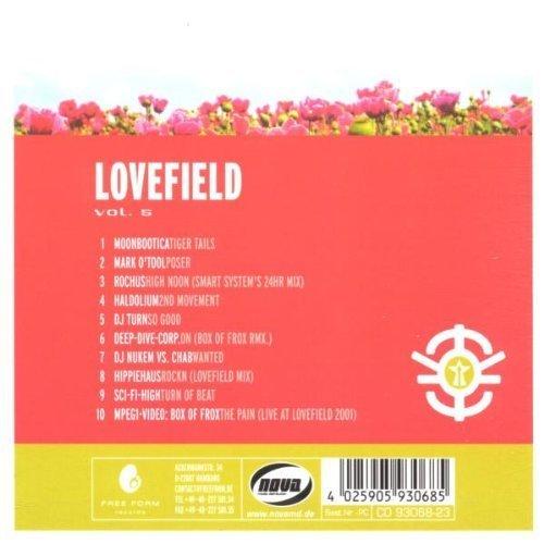 Bild 2: Lovefield 5 (2002, digi), Moonbootica, Mark O'Tool, Rochus, Haldolium, DJ Turn, DJ Nukem vs. Chab..
