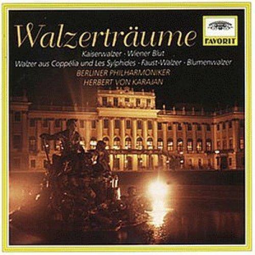 Bild 1: Walzerträume (DG/Favorit, 1961-72), Strauss, Tschaikowsky, Delibes, Chopin, Berlioz, Gounod.. (Berliner Philharmoniker/Karajan)