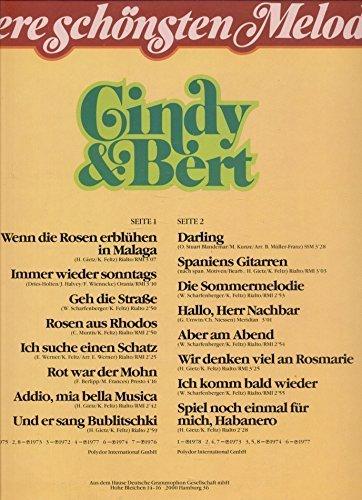 Bild 1: Cindy & Bert, Unsere schönsten Melodien (Club-Edition)