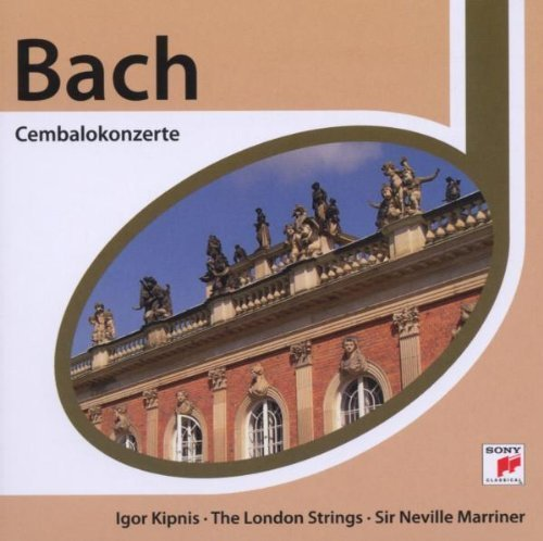 Bild 1: Bach, Cembalokonzerte: BWV 1052-55 (Sony/Esprit, 2006) (Igor Kipnis, The London Strings/Sir Neville Marriner)
