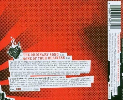 Фото 2: Die Happy, Ordinary song (2006; 2 tracks)