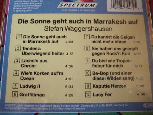 Bild 2: Stefan Waggershausen, Die Sonne geht auch in Marrakesh auf (compilation, 12 tracks, 1985-87/90)