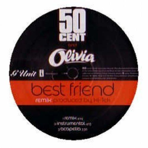Bild 1: 50 Cent, Best friend-Remix (US, 3 versions, 2006, & Olivia)