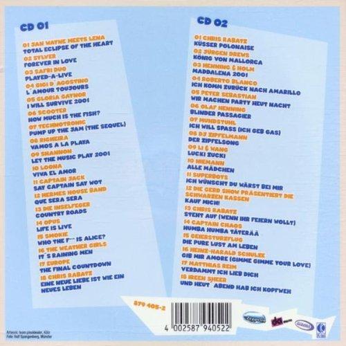 Bild 2: Chris Rabatz, Party Polonaise (v.a., 36 tracks: Jan Wayne, Sylver, Righeira, Scooter..)