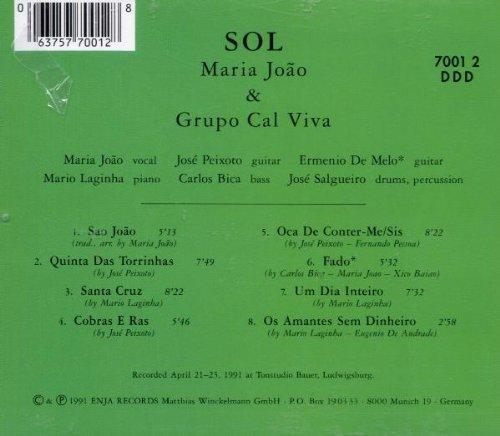 Bild 2: Maria João, Sol (1991, & Grupo Cal Viva)