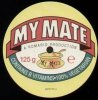 Romario, My mate (#matey001, UK, 1-sided, 2000)