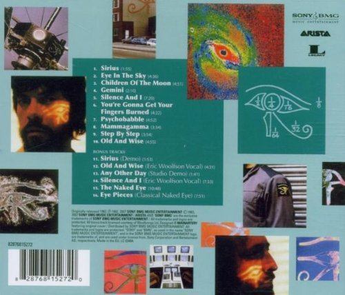 Bild 2: Alan Parsons Project, Eye in the sky (1982/2007; 16 tracks)
