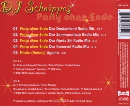 Bild 2: DJ Schnippes, Party ohne Ende (2007)
