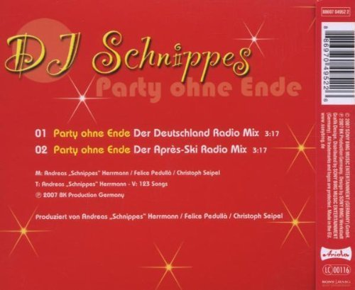 Bild 4: DJ Schnippes, Party ohne Ende (2007)