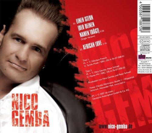 Bild 2: Nico Gemba, Einen Stern (der deinen Namen trägt; 2 tracks, 2007)