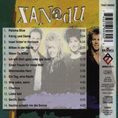 Bild 2: Xanadu, Paloma blue-Das Beste von (14 tracks)