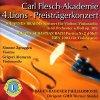 Brahms, Violinkonzert, op. 102, Violoncello und Orchester, op. 102/Bach: Partita Nr. 2, BWV 1004 (2001) (Simone Zgraggen, Grigori Alumyan, Baden-Badener Philharmonie/GMD Werner Stiefel)