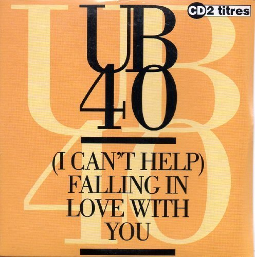 Bild 1: UB 40, (I can't help) falling in love with you (1993; 2 tracks, cardsleeve)