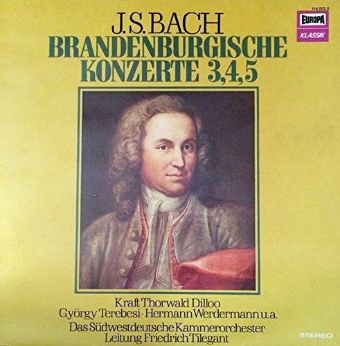 Bild 1: Bach, Brandenburgische Konzerte Nr. 1-6 (DG) (Berliner Philharmoniker/Karajan)