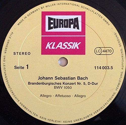 Bild 2: Bach, Brandenburgische Konzerte Nr. 1-6 (DG) (Berliner Philharmoniker/Karajan)