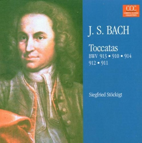 Bild 1: Bach, Toccaten, BWV 910-914 (1984) (Siegfried Stöckigt)