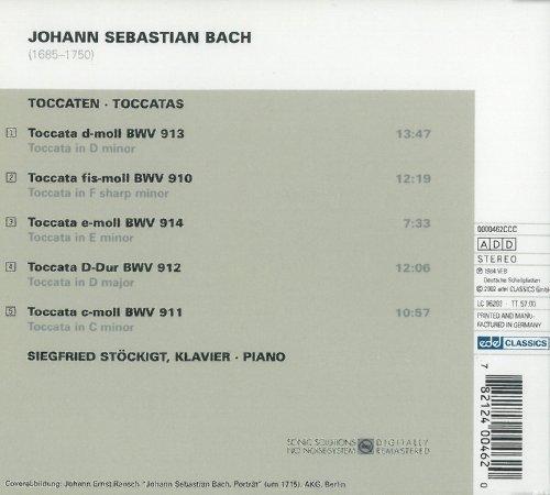 Bild 2: Bach, Toccaten, BWV 910-914 (1984) (Siegfried Stöckigt)