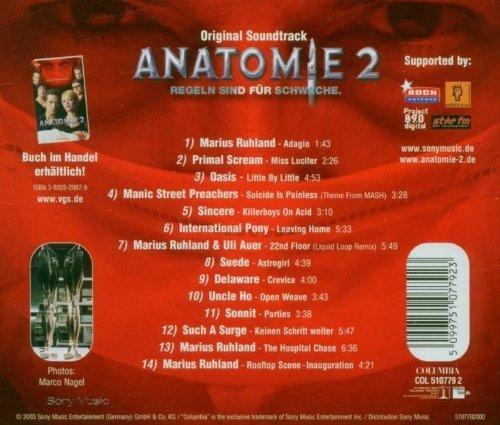 Bild 2: Anatomie 2 (2003), Marius Ruhland, Primal Scream, Oasis..