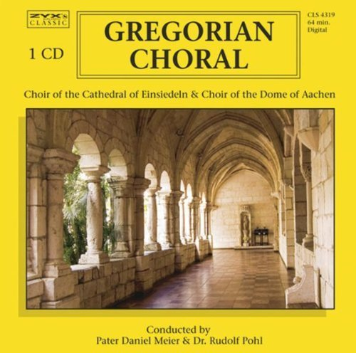 Bild 1: Gregorian Choral (21 tracks, 1968-89), Tomás Luis de Victoria, Louis Nicolas Clerambault, Gregor Aichinger, Orlando di Lasso.. (Choir of the Cathedral of Einsiedeln, Capella Carolina, Choir of the Dome of Aachen..)