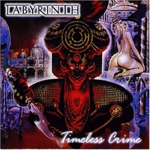 Bild 1: Labyrinth, Timeless crime (1999, e.p.)