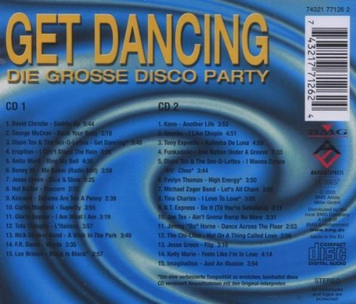Bild 2: Get Dancing: Die grosse Disco Party (30 tracks, BMG), David Christie, George McCrae, Disco Tex & The Sex-O-Lettes, Hot Butter, Kano, Gazebo..