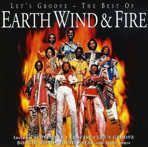 Bild 1: Earth Wind & Fire, Let's groove-The best of (17 tracks, 1996)